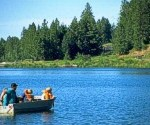 Dog Bark Park recommends visiting for a hike around the lake, fishing or for a picnic