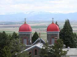 Cottonwood Idaho's Monastery at St. Gertrudes